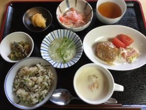 2015年11月18日お昼ご飯写真
