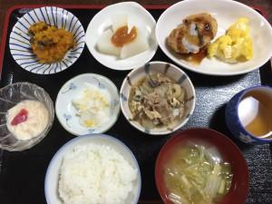 2015年11月20日お昼ご飯写真